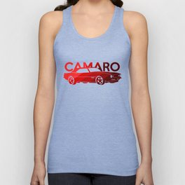 Chevrolet Camaro SS -classic red - Unisex Tank Top