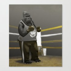 Old School Champion 2 Canvas Print
