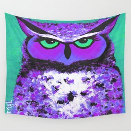 Violet O Wall Tapestry