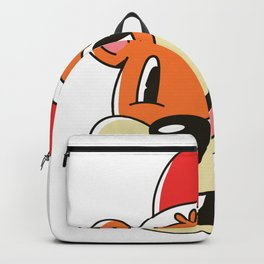 Christmas Cartoon Backpack