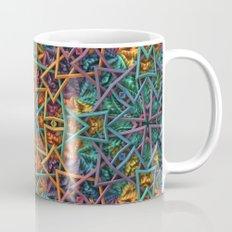 Colorful Fractal Pattern Coffee Mug