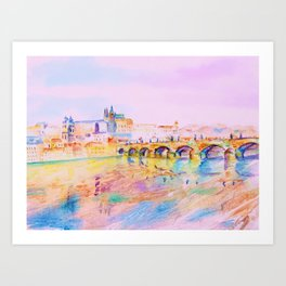City of Prague Art Print