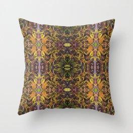 Fall Cat Pattern Throw Pillow