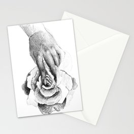 Hand&Rose study II Stationery Cards