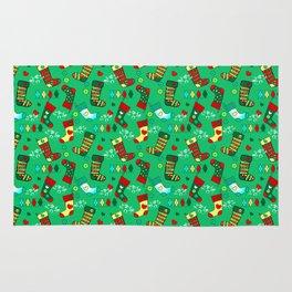 Christmas, Stockings Rug