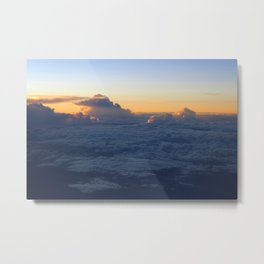 Cloud Mountains • V01 Metal Print
