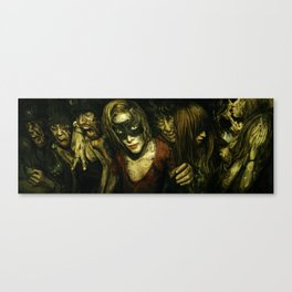 Pounding Within Canvas Print