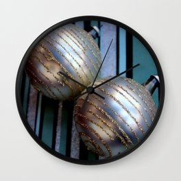 Worth Their Weight In A Gold Stripey Way Wall Clock