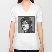 the hobbit V-neck T-shirts featuring HOBBIT by zinakorotkova