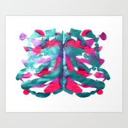 Rose sea Art Print