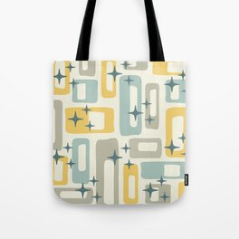 Mid Century Modern Geometric Abstract 132 Tote Bag