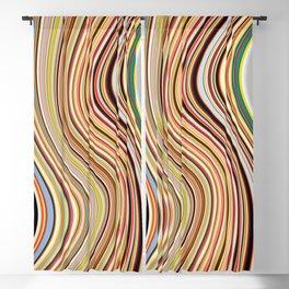 Old Skool Stripes - Flow Blackout Curtain