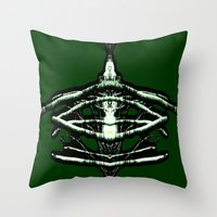 beast Throw Pillows featuring BEAST by lucborell