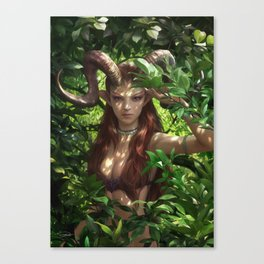 Bariaur In The Forest Canvas Print