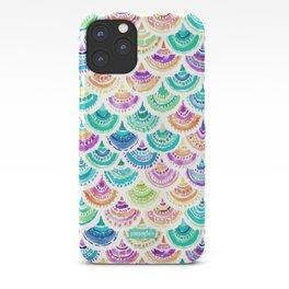 RAINBOW MERMACITA Colorful Mermaid Scales iPhone Case