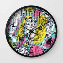 Genji Monogatari 2 Wall Clock
