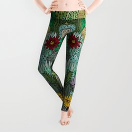 Cactus Collection Leggings