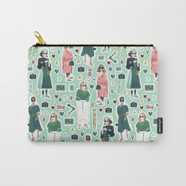 Social Girls 1 Carry-All Pouch