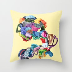 The Convulsionnaires Throw Pillow