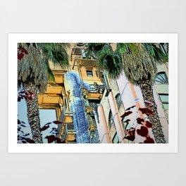Holywood Hotel - Tower of terror Art Print