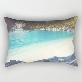 Exotic beach No1 Rectangular Pillow