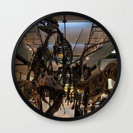 Vertebrae By Vertebrae  Wall Clock