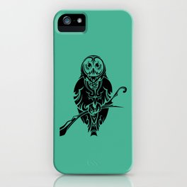 Tribal Owl 2 iPhone Case