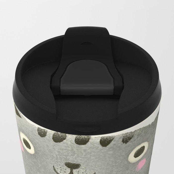 I♥kill (brown) Metal Travel Mug
