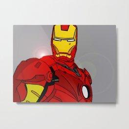 Ironman Print Metal Print