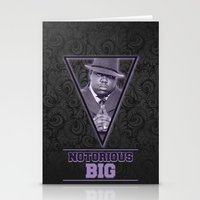 notorious big Stationery Cards featuring *Notorious BiG* by Gold Blood