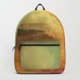 I dreamed a storm of colors Backpack