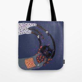 Cat magic Tote Bag