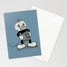 Mickey Pumpkin (desaturated) Stationery Cards