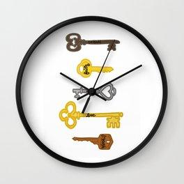 Keys to Recovery Wall Clock