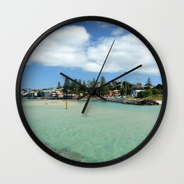 Coastal Bliss Wall Clock
