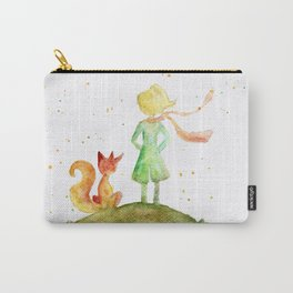 Little Prince and Fox Carry-All Pouch