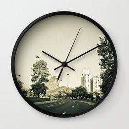 Empty City #4 Wall Clock