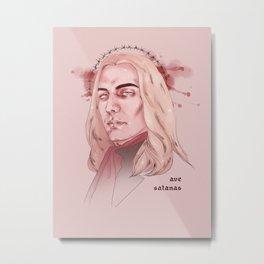 Hail Satan Metal Print