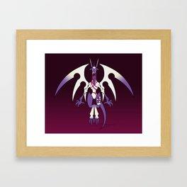 Lesser -Dragoon Framed Art Print