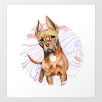 Bunny Ears 2 Art Print