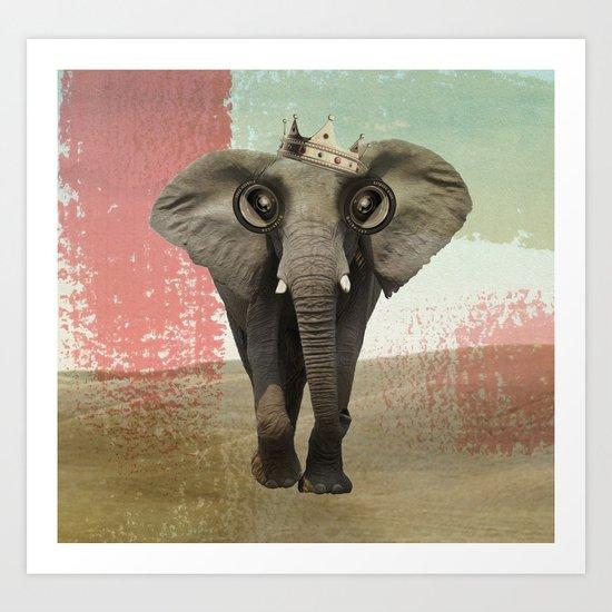 king baba Art Print