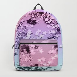 Unicorn Girls Glitter Stars #1 #shiny #pastel #decor #art #society6 Backpack
