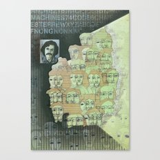 The individualist Canvas Print