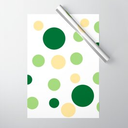 Green Pop Wrapping Paper