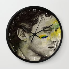 Rei Do Brasil: Tribute to Ayrton Senna da Silva Wall Clock