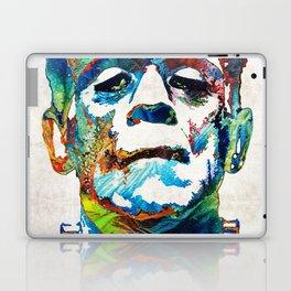 Frankenstein Art - Colorful Monster - By Sharon Cummings Laptop & iPad Skin