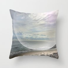 days of miracle & wonder Throw Pillow