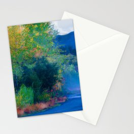 Port Angeles offroad Watercolor Stationery Cards