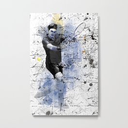 Game, Set, Match Metal Print