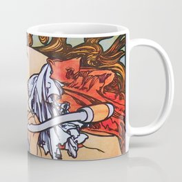 Alfons Maria Mucha - Cycles Perfecta - Digital Remastered Edition Coffee Mug
